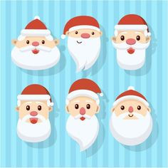 free vector illustration design of Santa faces for Christmas holidays http://www.cgvector.com/free-vector-illustration-design-santa-faces-christmas-holidays/ #Beard, #Card, #Cartoon, #Celebration, #Character, #Christmas, #Claus, #Collection, #Cute, #December, #Design, #Drawing, #Face, #Festive, #Flat, #Fun, #Funny, #Glasses, #Greeting, #Happy, #Hat, #Head, #Holiday, #Illustration, #Merry, #New, #Red, #Retro, #Santa, #Season, #Set, #Stylized, #Vector, #Vintage, #Winter, #Xma