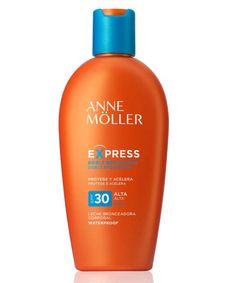 La leche bronceadora corporal SPF 30 waterproof de Anne Möller (24,70 euros) cuenta con una innovado... - telva.com