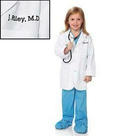 lab coat kids costume - Kids can make the neighborhood rounds dressed like real doctors.  sc 1 st  Pinterest & Toddler Future Doctor Costume | Halloweenie | Pinterest | Doctor ...