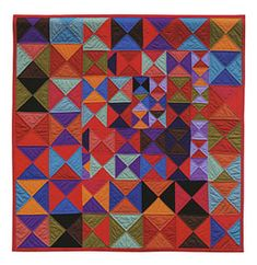 Additional Images of Free Range Triangle Quilts by Gwen Marston - ConnectingThreads.com