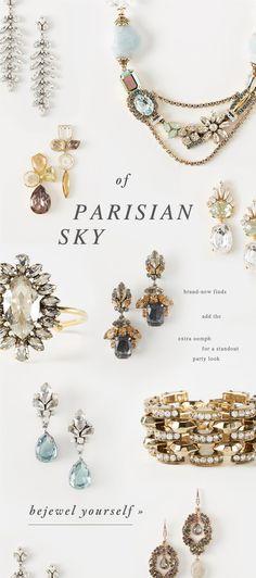 Bhldn Parisian inspired jewelry looks