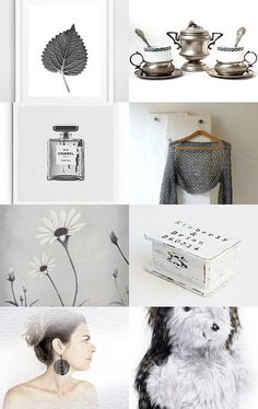 245 - Neutral Color Palette by Ilona on Etsy--Pinned with TreasuryPin.com