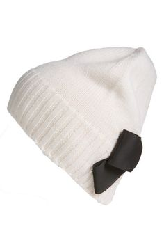 kate spade new york bow beanie available at #Nordstrom