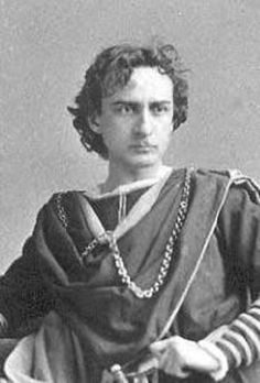 The Shakespearean actor, Edwin Booth, and his first wife, Mary Devlin Booth, were friends and part of the literary and artistic circle that congregated at the Stoddard's home on Tenth Street  in NYC.