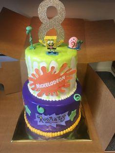 21+ Best Photo of 90S Birthday Cake 90S Birthday Cake Nickelodeon Cake Children Birthday Cake In 2018 Pinterest Cake  #DiyBirthdayCake Custom Birthday Cakes, Adult Birthday Cakes, Themed Birthday Cakes, Happy Birthday Cakes, Themed Cakes, Leo Birthday, Surprise Birthday, Birthday Ideas, Birthday Parties