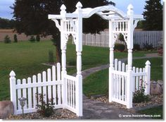 """Madison Arbor - Can be assembled with choice of 50"""" or 66"""" inside opening between posts - Click to enlarge!"""