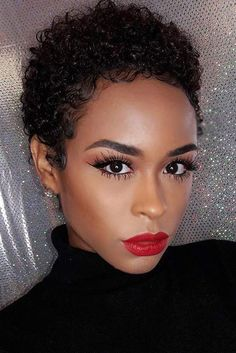 best Twa Hairstyles ideas on Short Curls, Short Curly Hair, Short Hair Cuts, Curly Hair Styles, Short Afro, Loose Curls, Curly Afro, Natural Hair Cuts, Natural Hair Styles