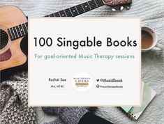 FREE E-BOOK: 100 Singable Books for goal-oriented Music Therapy sessions Private Practice, Elementary Music, Music Therapy, Therapy Ideas, Goal, Singing, Ebooks, Cards Against Humanity, Songs