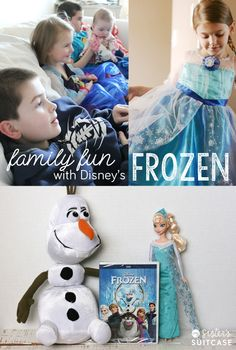 Have some fun with your family to celebrate the release of Disney's FROZEN - including ideas for a party, games, activities and more! #FROZENfun #shop