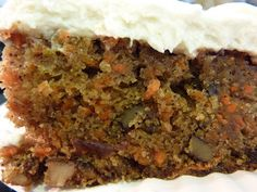 second helpings: Carrot Cake
