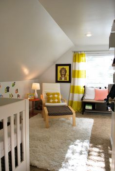 unisex baby room | Gender Neutral Baby Nursery - Design Dazzle