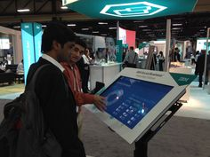 Interactive Tablet - Solution Expo @ IBM InterConnect 2015