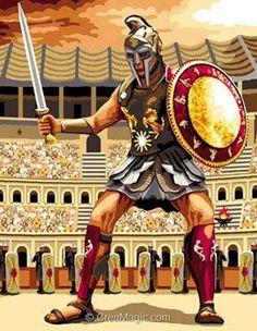 Gladiateur canevas - Mimo Verde