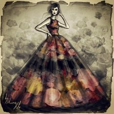 Иллюстратор Shamek Bluwi: myfashion_diary