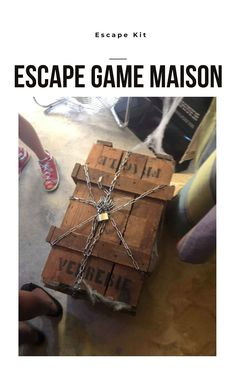 Escape Room, Detective Party, Anniversaire Harry Potter, Escape Games, Geocaching, School, Birthday, Gifts, Diy