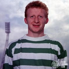 All smiles from Jimmy Johnstone