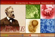 Voyage interactif dans l'univers de Jules Verne - Découvrez Jules Verne, ses inventions, ses contemporains, à travers un module développé par Curiosphère.