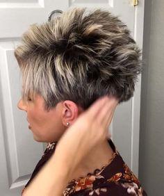 Short Hair Back, Short Choppy Hair, Really Short Hair, Short Hair Older Women, Short Hair With Layers, Short Pixie, Stylish Short Haircuts, Cute Hairstyles For Short Hair, Older Women Hairstyles