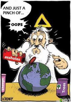 ahaha che divertente l'aureola a triangolo, mi fa morire ahahah  #ohwait