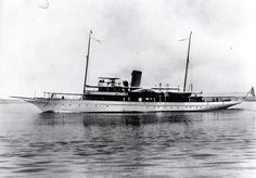 Delphine-steam yacht, Great Lakes Ship, Registry No. US. 221218, Built 1921