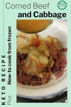Delicious, easy, and, keto! You'll want to make this amazing corned beef and cabbage for your next family dinner. Easy Keto Menus corned beef and cabbage recipe is so simple. It's actually my mom's recipe from us growing up (it just so happens to be low carb friendly!) **Click link to get recipe** Carb Free Recipes, Ketogenic Recipes, Keto Recipes, Dinner Recipes, Healthy Recipes, Small Cabbage, Corn Beef And Cabbage, Cabbage Recipes, Mom's Recipe