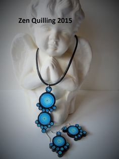 My creation - idea taken from the Internet - Facebook.com / Zen Quilling