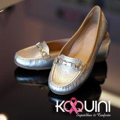 Delicioso couro soft em dourado e fôrma mega confortável #koquini #sapatilhas #euquero #mocassim by #wirth Compre Online: http://koqu.in/1F2SQmy