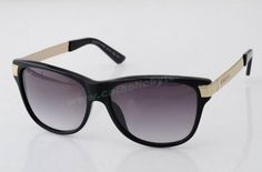 2014 Authentic Gucci Museo GG 3619 S Black Grey Unisex Sunglasses For Sale For Wholesale
