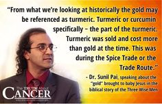 """What if the """"gold"""" referred to in the story of """"The 3 Wise Men"""" wasn't the precious metal but THIS instead? Watch as Dr. Sunil Pai talks with Ty about these 3 healing spices from the Wise Men. (Video transcript included) Click through and watch the video to get the inside scoop! Please re-pin to share with your family & friends! // The Truth About Cancer <3"""