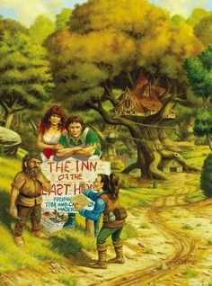 """Inn of the Last Home"" by Larry Elmore."