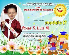 Diplomas Preescolar   Fotografia y Diseño