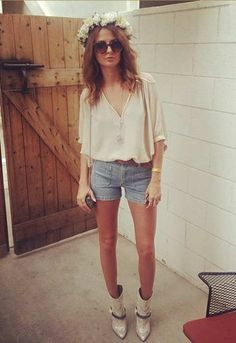 Made in Chelsea star Millie Mackintosh at Coachella 2014