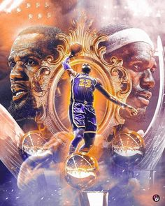 The legend of Lebron continues. When it's all said and done, do you see him ge… The legend of Lebron continues. When it's all said and done, do you see him getting more than 3 rings? Sport Basketball, Nba Sports, Basketball Pictures, Basketball Design, Basketball Legends, Sports Memes, College Basketball, King Lebron James, Lebron James Lakers