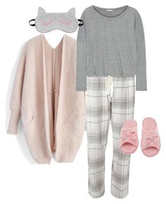 """""""Confortável sexta-feira!! huahuahua ..."""" by ilse-gaedke on Polyvore featuring Chicwish, Dorothy Perkins, Eberjey and Deluxe Comfort"""