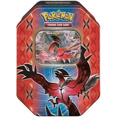 Pokemon XY TCG Card Game 2014 Legend of Kalos Spring EX Booster Packs Tins - Yveltal - List price: $19.99 Price: $13.51