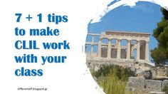 A different side of EFL: 7+1 tips to make CLIL work with your class