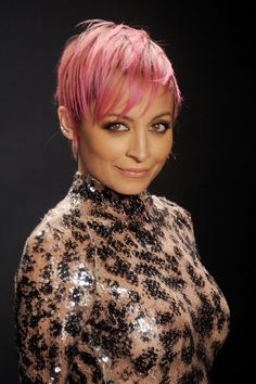 Nicole Richie's Pixie Crop For Her Oval Face Shape | Hair | Grazia Daily