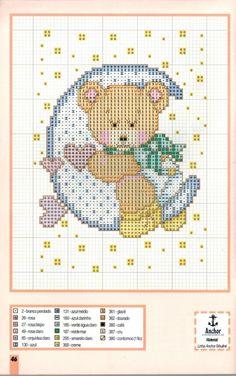 Cross Stitch For Kids, Cross Stitch Baby, Cross Stitch Kits, Cross Stitch Charts, Cross Stitch Designs, Cross Stitch Patterns, Cross Stitching, Cross Stitch Embroidery, Embroidery Patterns