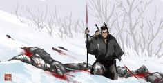 lone wolf and cub artwork - Google Search