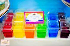 Girly Rainbow Birthday Party Planning Ideas Supplies Idea Cake Decor