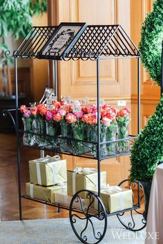 A Parisian-Inspired Bridal Shower | Photography by: Krista Fox Photography | WedLuxe Magazine | #bridalshower