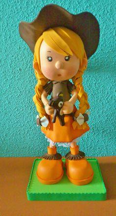 Fofucha country mofletuda www.facebook.com/Piruletadas