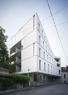 Aaron Florian Apartment Building - Studios ADN Birou de Arhitectura - Buchares - © Andrei Mărgulescu