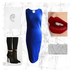 Blue, Bold, Beautiful by bitterlolli on Polyvore featuring Forever 21 and Charlotte Tilbury