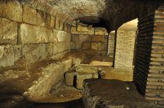 San Nicola in Carcere ruins underground