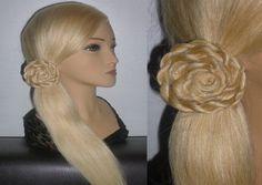 Витая коса-жгут.Лёгкая причёска за 1 минуту.Цветок из волос.Flower Hair ...