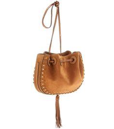 mytheresa.com - Inez Small suede bucket bag - Luxury Fashion for Women / Designer clothing, shoes, bags