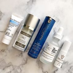 What's been on my face lately and I'm a fan of everything pictured. And I know the question is coming... I like The Ordinary Niacinamide serum but I need to test some more before deciding whether or not it's making any major improvement in acne scars.