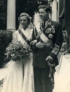 King Michael of Romania and Princess Anne of Bourbon-Parma