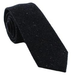 1937 London Grove Skinny Wool Mix Tie